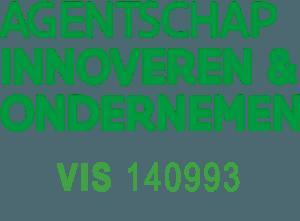 Logo Vlaio + nummer VIS